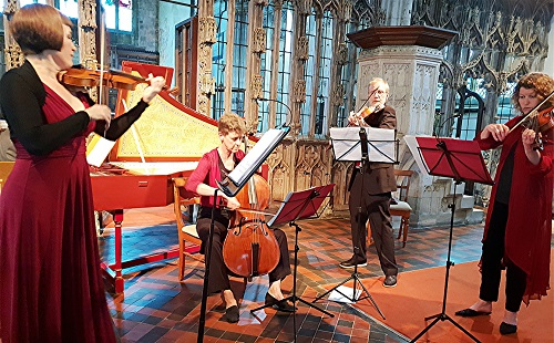 Devon Baroque Chamber Ensemble credit Philip R. Buttall